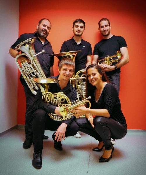 Burdigala Brass Quintet Aôut 2021